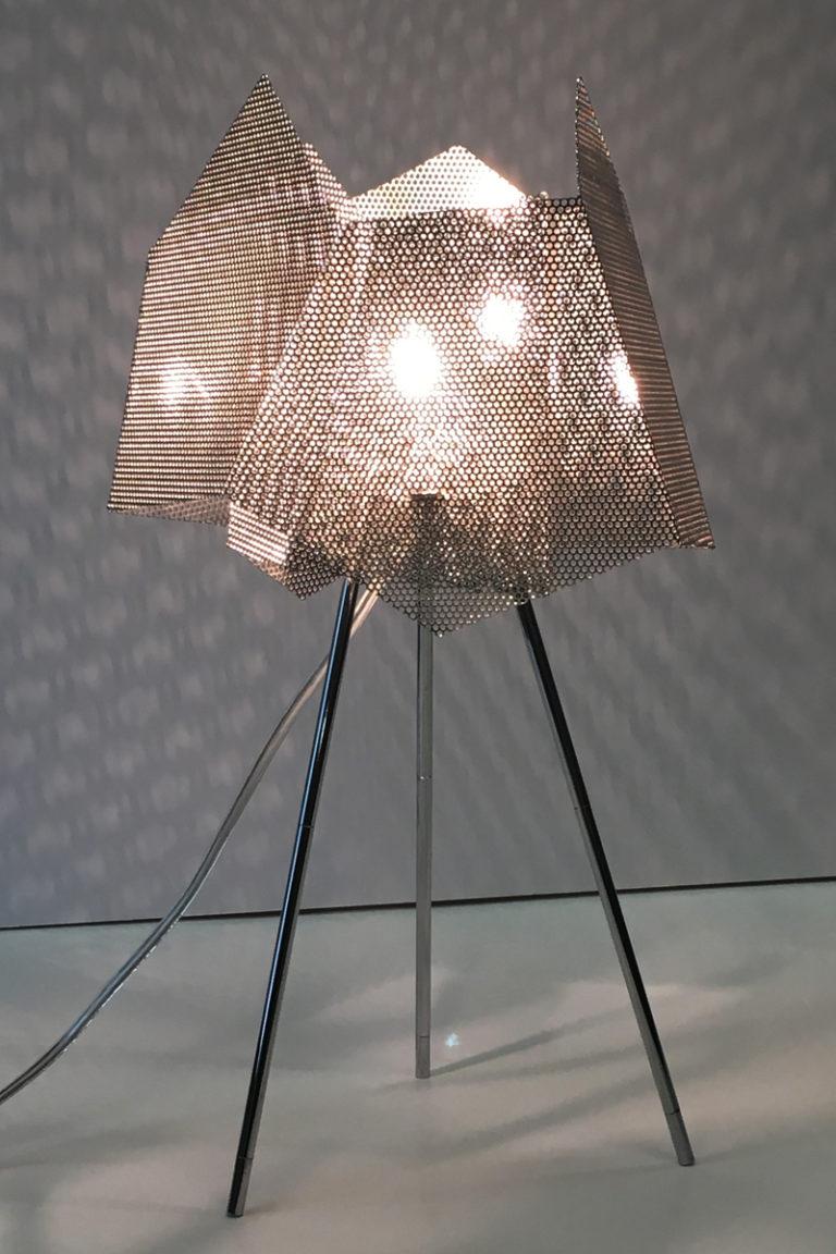 Luminaire lampe Cristal Zoom dans bureau Thierry Vidé Design