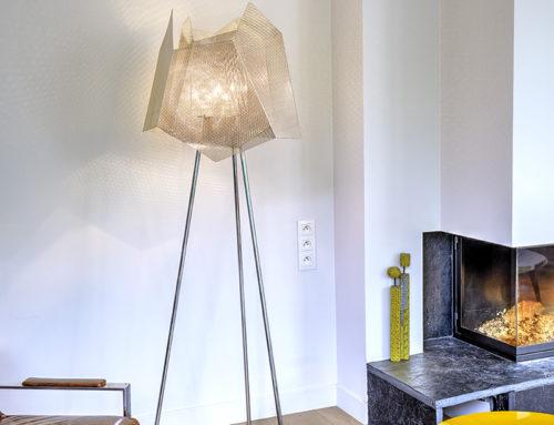 Lampe Sur Pied Cristal n°34C