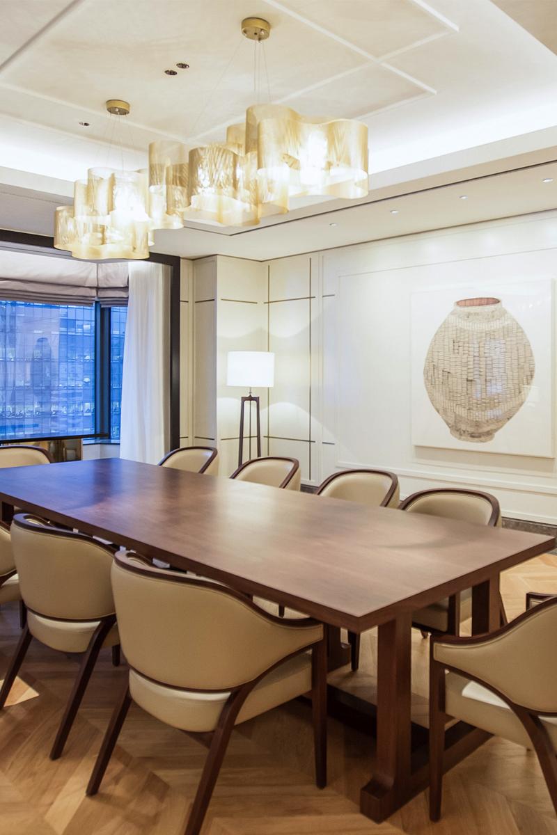 Luminaire Suspension Nuage medium Hotel Lotte - Séoul Thierry Vidé Design