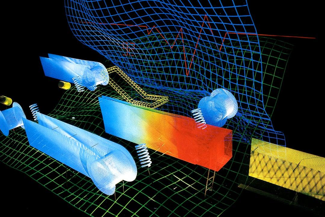 Sculpture General Motors par Thierry Vidé Design