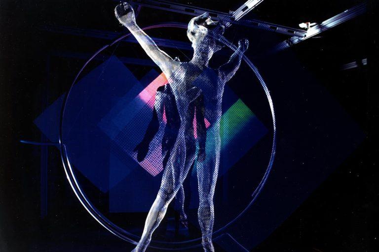 Man in Space sculpture by Thierry Vidé Design