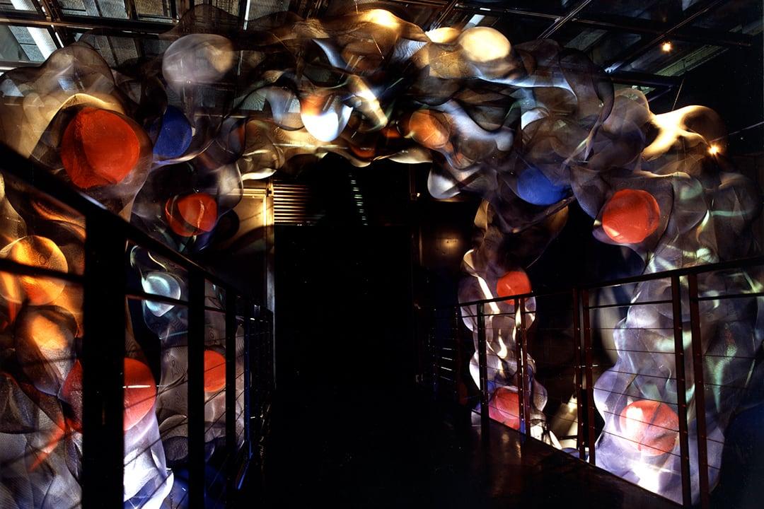 Molecules sculpture by Thierry Vidé Design