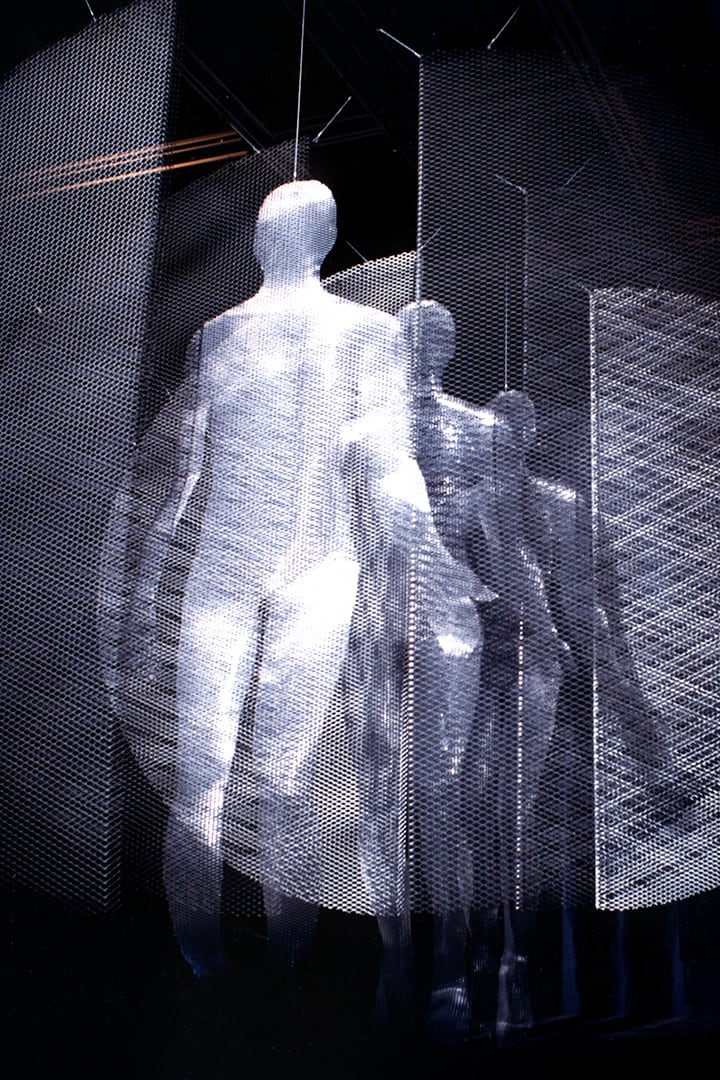 Sculpture Passage de l'Homme par Thierry Vidé Design