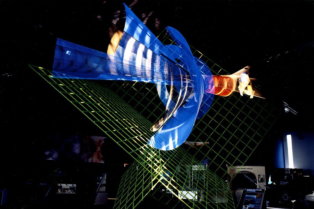Sculpture Radar Thomson par Thierry Vidé Design