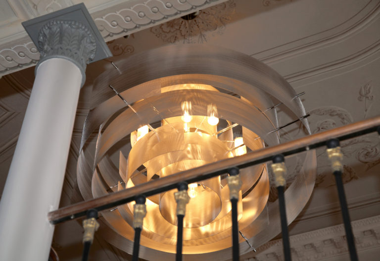 Suspension Galaxy Monumentale - Castle of Roquefoulet - Thierry Vidé
