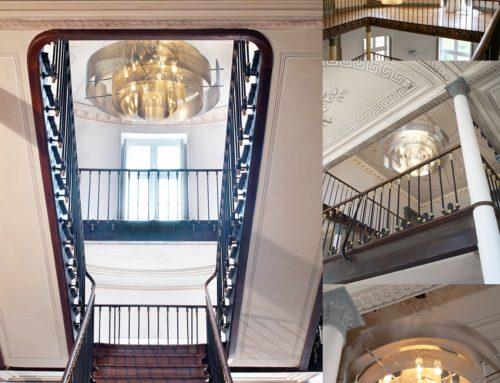 Les luminaires Thierry Vidé au Château de Roquefoulet