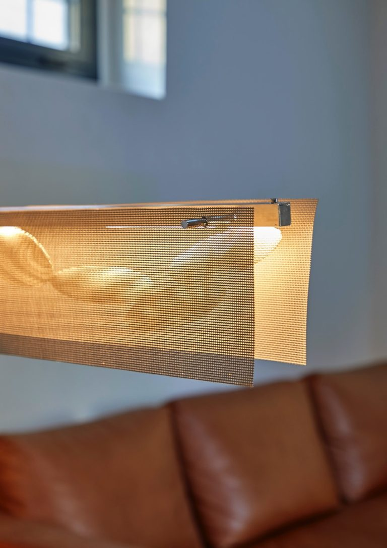 Luminaire Suspension Barette Fluide Thierry Vidé Design