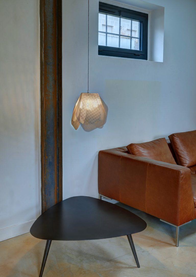 Luminaire Suspension Pétale par Thierry Vidé Design